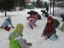 Staviame snehuliakov